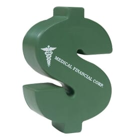 Stress Balls Dollar Sign - 24hr Service