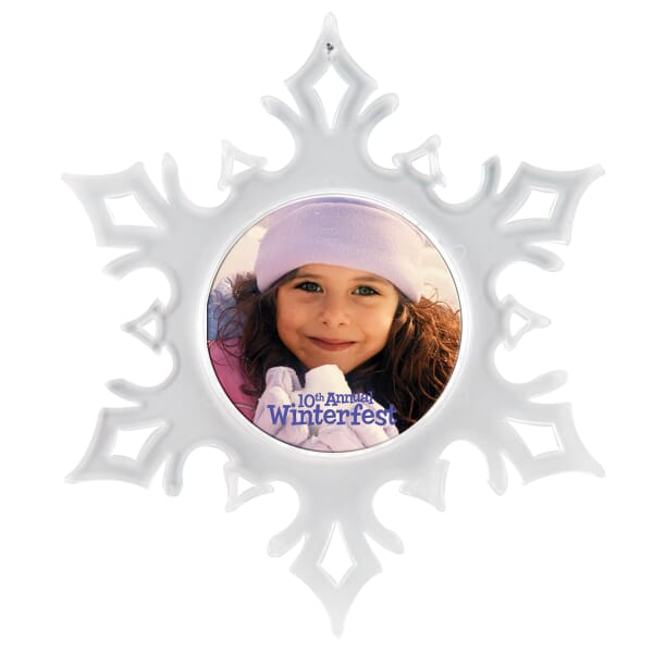 Snowflake Holiday Ornament