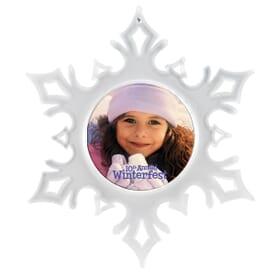 Snowflake Holiday Ornament