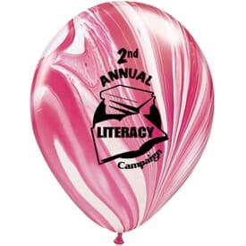 "11"" Qualatex® Balloons- SuperAgate® Colors"