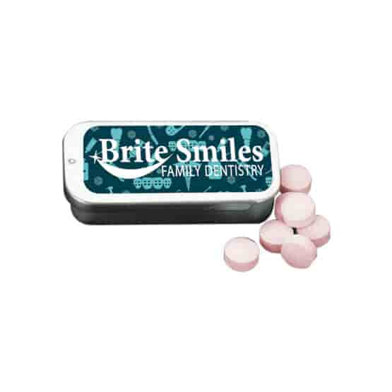 Flavorful Tin Of Mints
