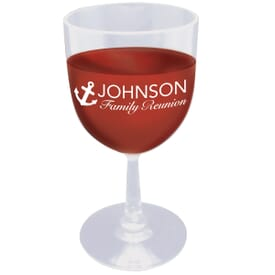 6 oz Plastic Wine Glass