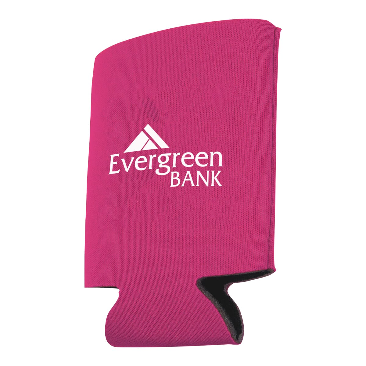 Pink foldable can cooler