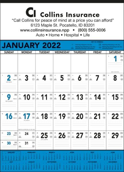2021 Commercial Memo Calendar