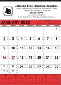 2022 Commercial Memo Calendar
