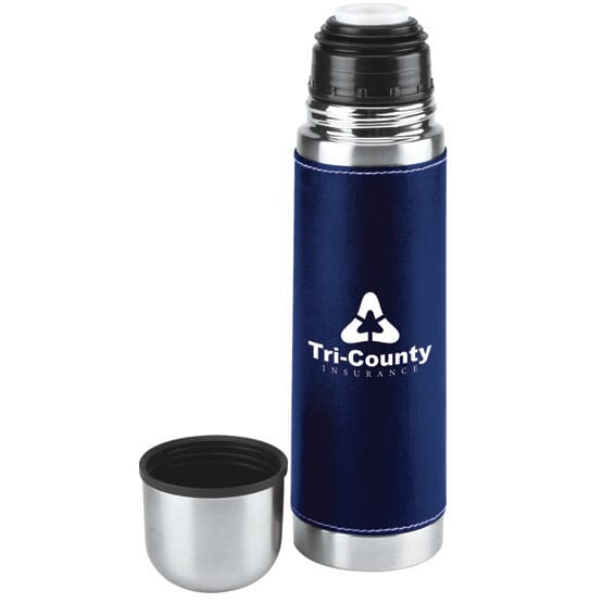 Vacuum insulated thermos bottle