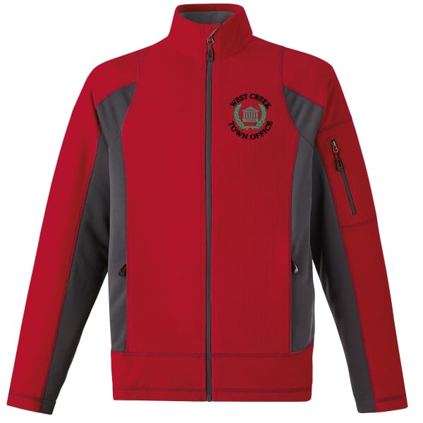 Textured Fleece Jacket-Men's