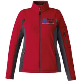 Textured Fleece Jacket-Ladies'