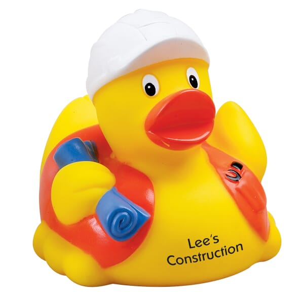 Dressed-Up Duck - Construction Worker