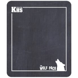 "Rectangle Chalkboard Magnet-7"" X 8 1/4"""