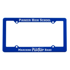 License Plate Ad Frame