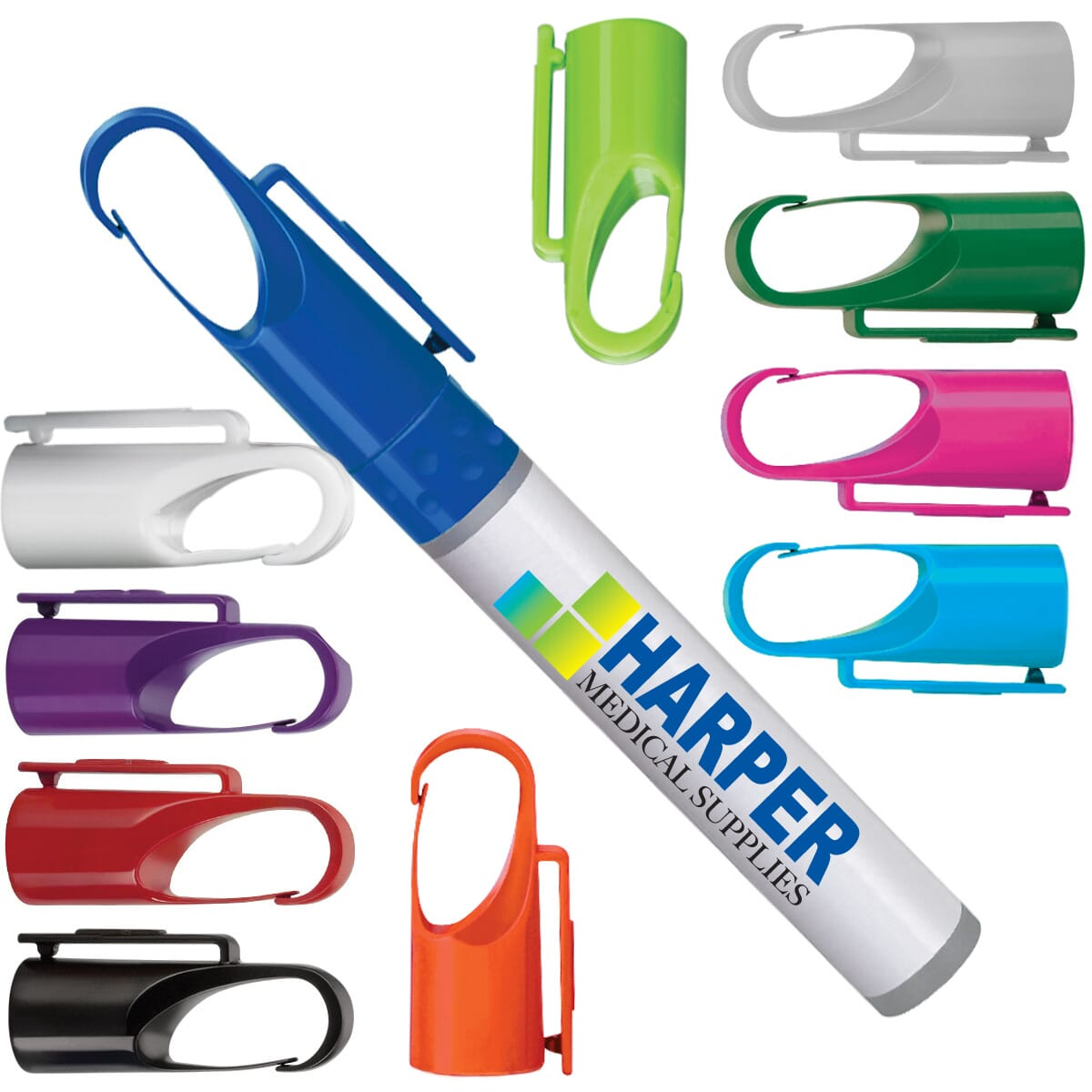 Sanitizer spray pen with logo