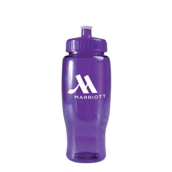 27 oz Poly-Squeeze Sport Bottle Translucent