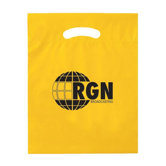 yellow biodegradable plastic bags