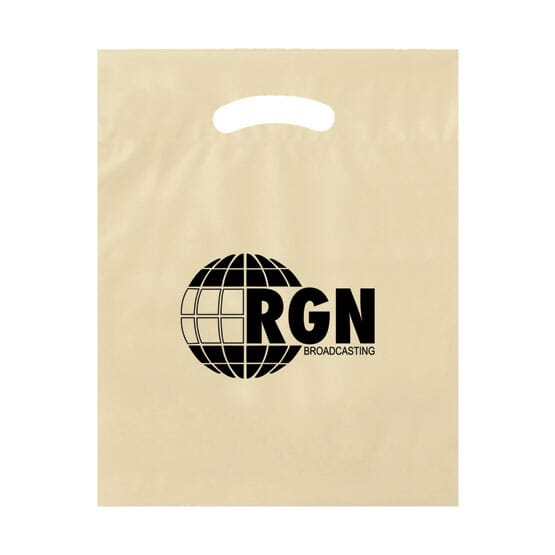 Biodegradable plastic bag for giveaways
