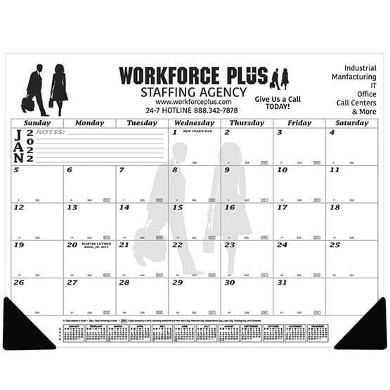 2021 Jumbo Desk Pad Calendar