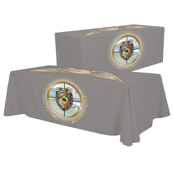 8ft Convertible Table Throw - Full Color Dye-Sub