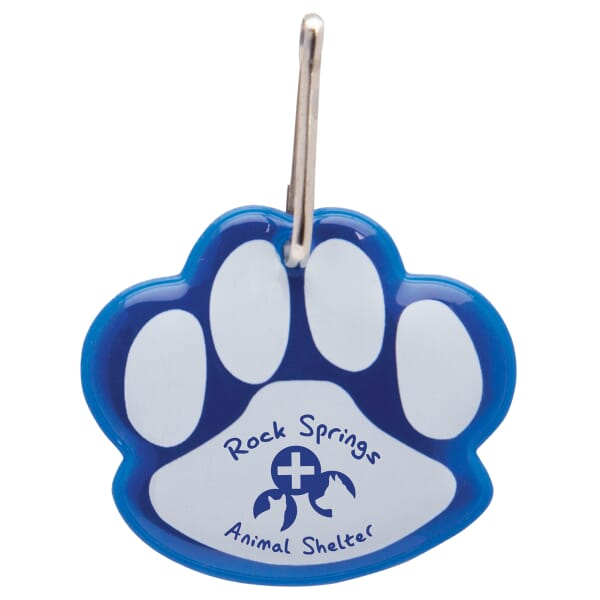 Reflective Tag-Paw