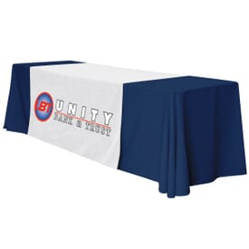 "57"" Standard Table Runner – Full Color Front Panel"