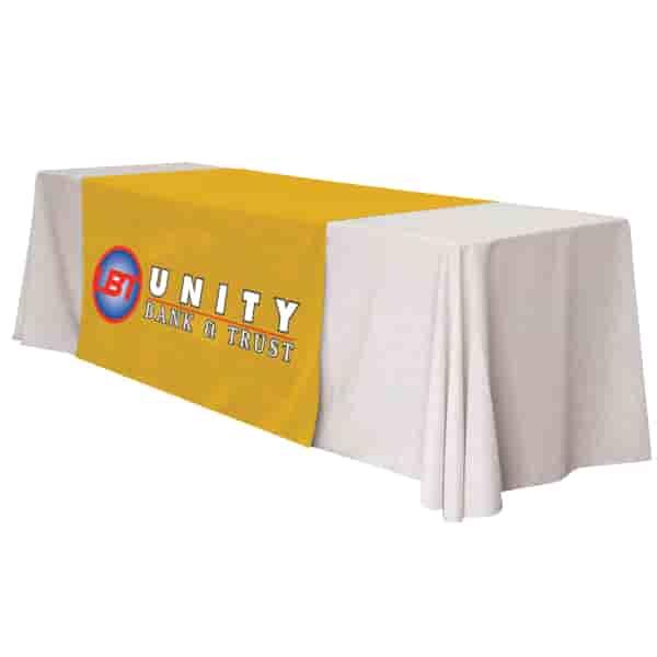 """57"""" Standard Table Runner – Full Color Front Panel"""