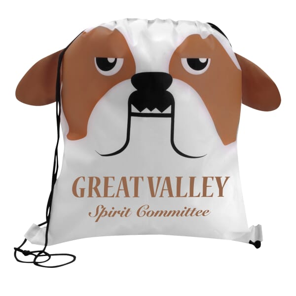 Paws 'N Claws Drawstring Backpack –  Bulldog