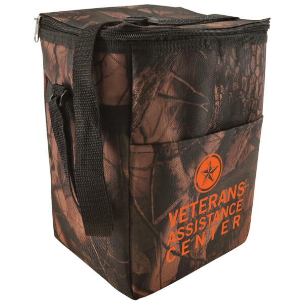 12-Pack Camo Cooler