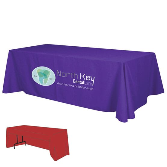 8Ft Economy 3-Sided Table Throw 107074