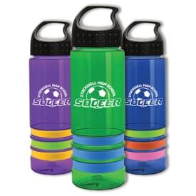 24 oz Color Band Bottle