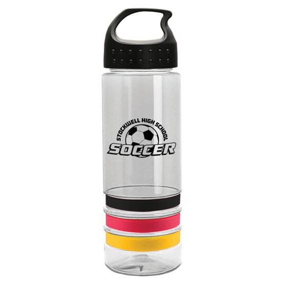 24 oz Color Band Bottle