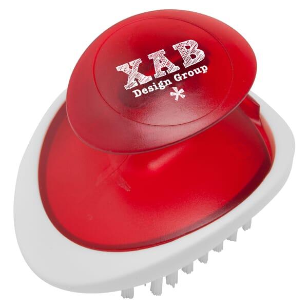 Palm Veggie Brush-It™ Kitchen Tool