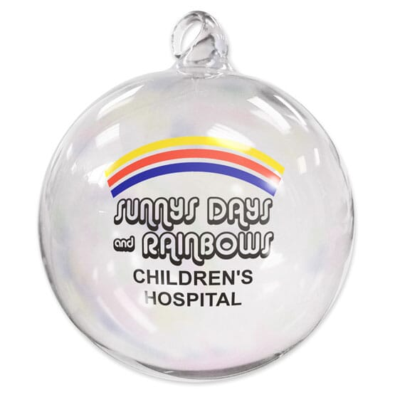 Hand Blown Holiday Ornament