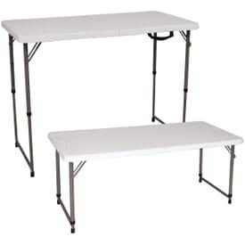 Adjustable 4' Event Table
