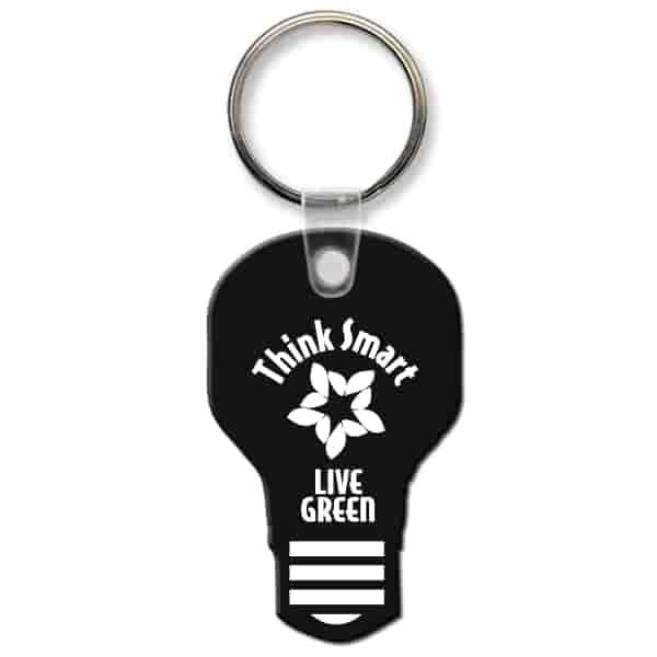 Classic Key Tag - Light Bulb