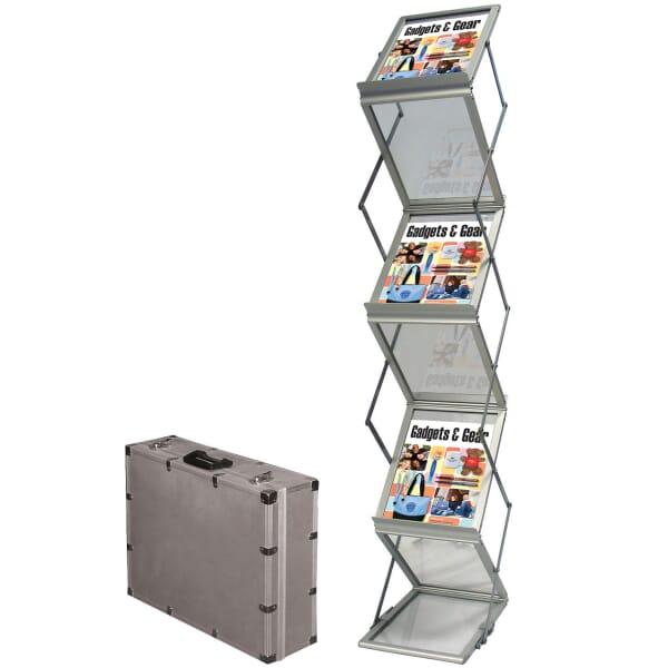 Portable Accordion Literature Display