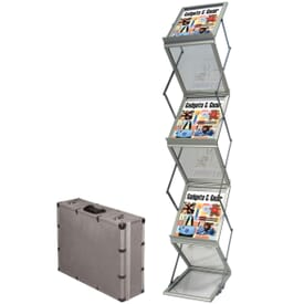 Portable Accordion Literature Display