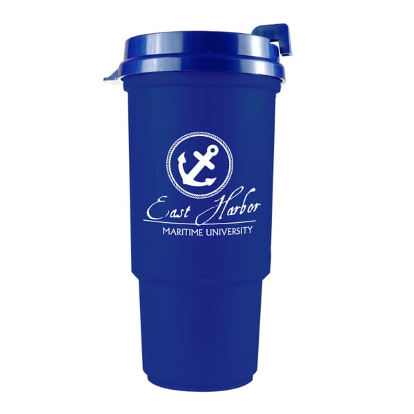 16 oz Back To Basics Travel Tumbler