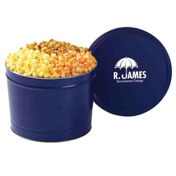 Tasty Trio Popcorn Tin