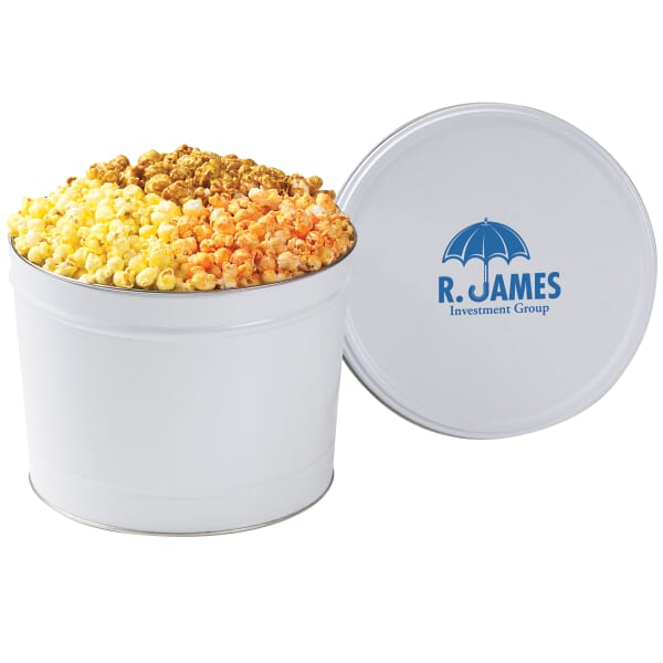 Tasty Trio Popcorn Tin