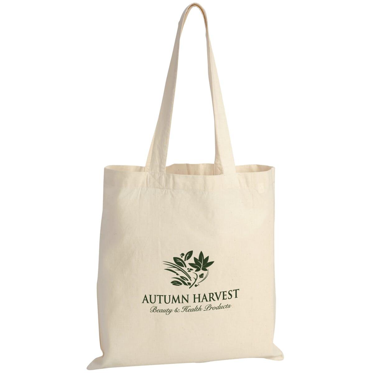 Afforable natural color tote bag
