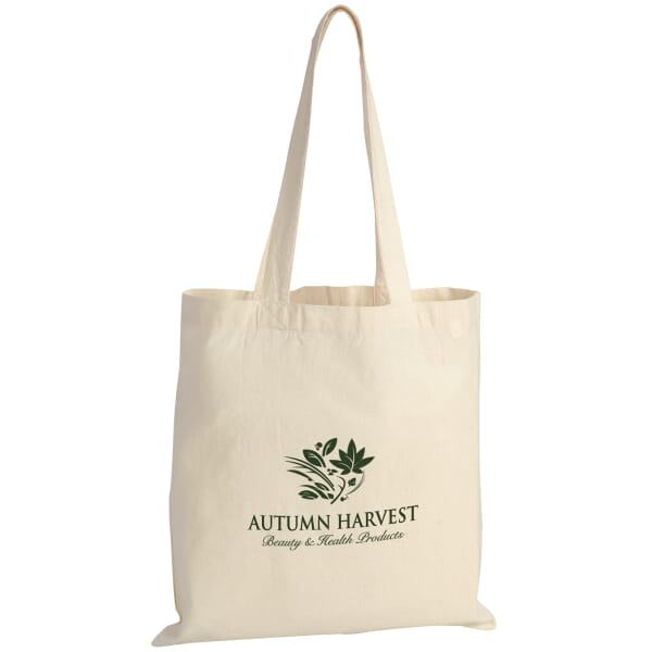 Lightweight Cotton Economy Tote Bags – Natural