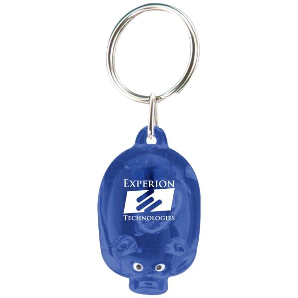 Pig Lite Keychain