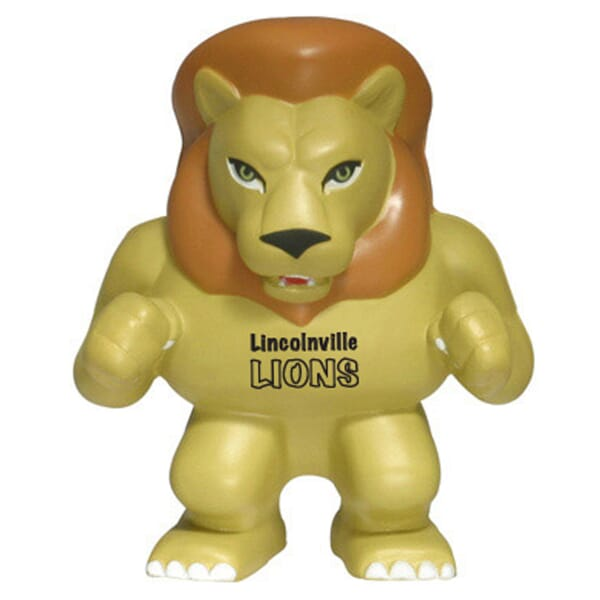 Lion Mascot Stress Reliever