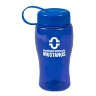Custom Royal Water Bottle with Carabiner