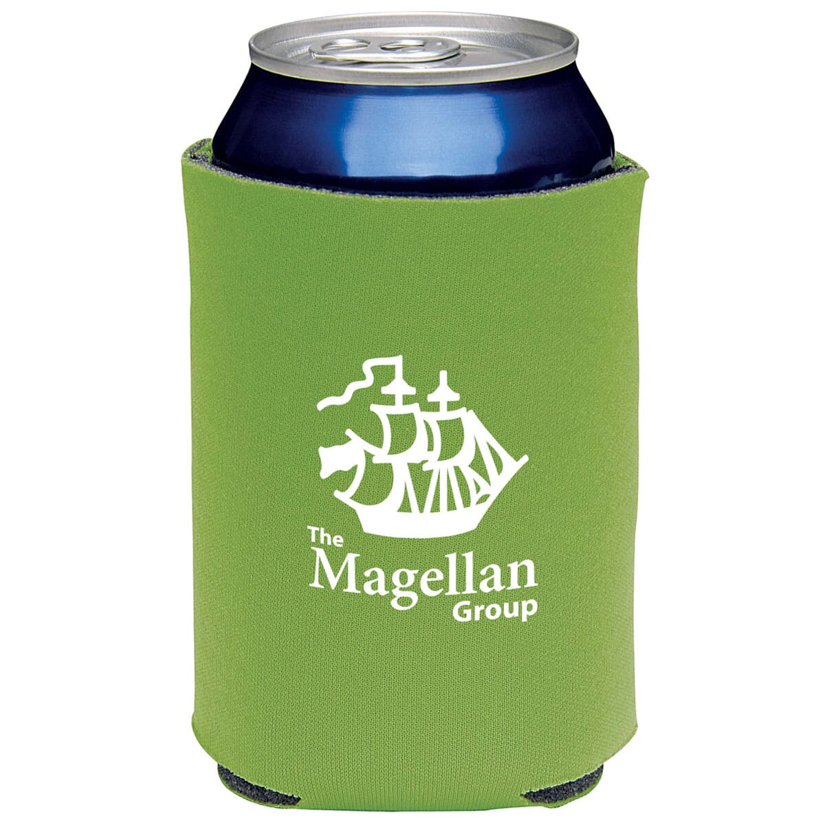 Bright recycled koozie