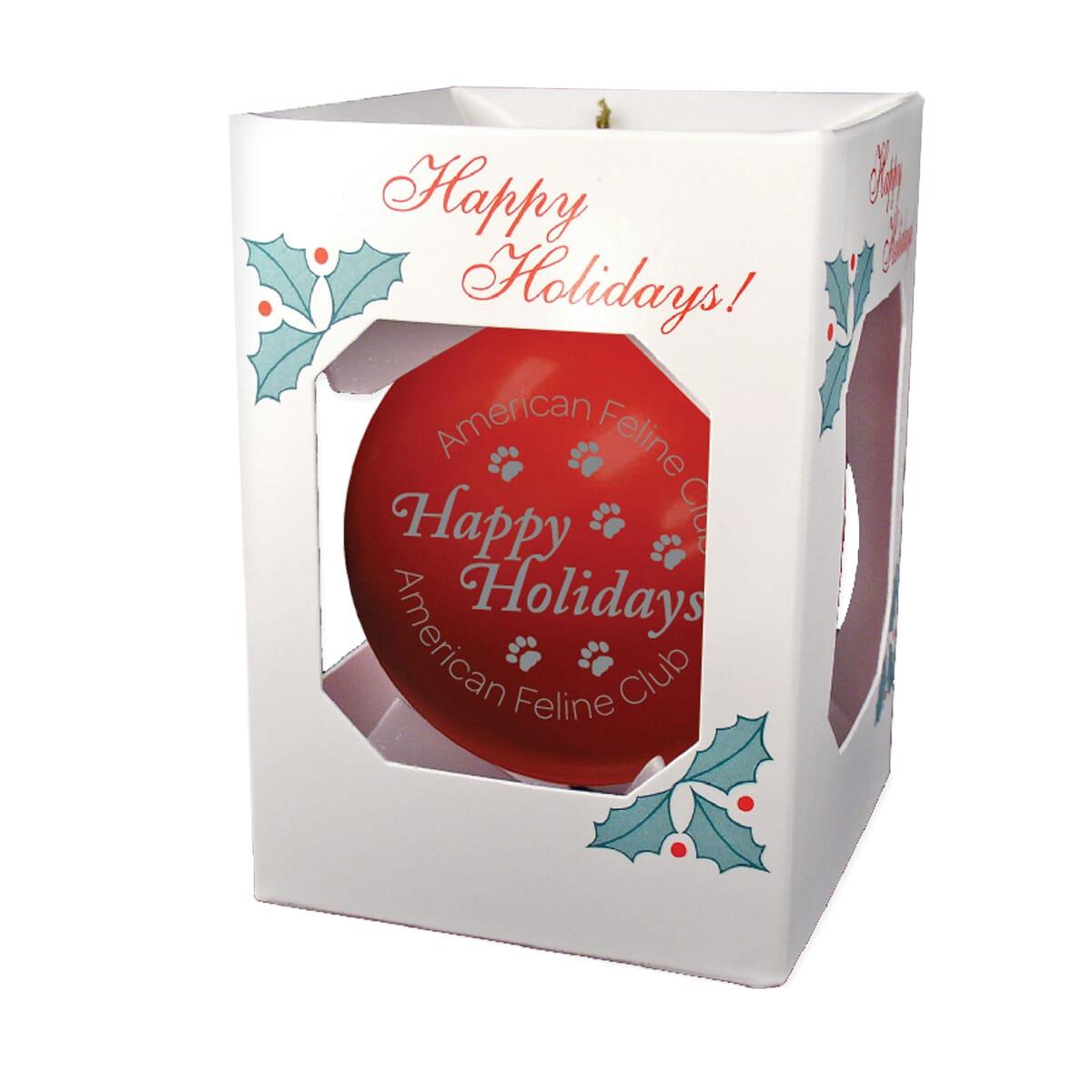USA-Made Holiday Ornament