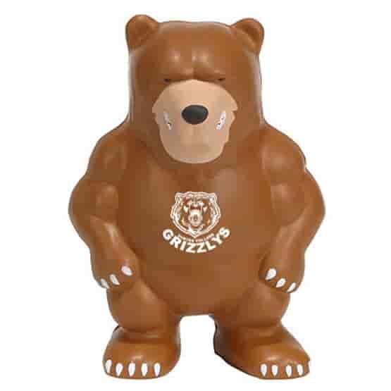 Bear Mascot Stress Reliever