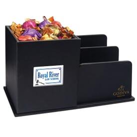 Godiva® Leatherette Desk Caddy