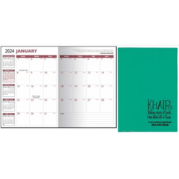 2021 13 Month Desk Planner