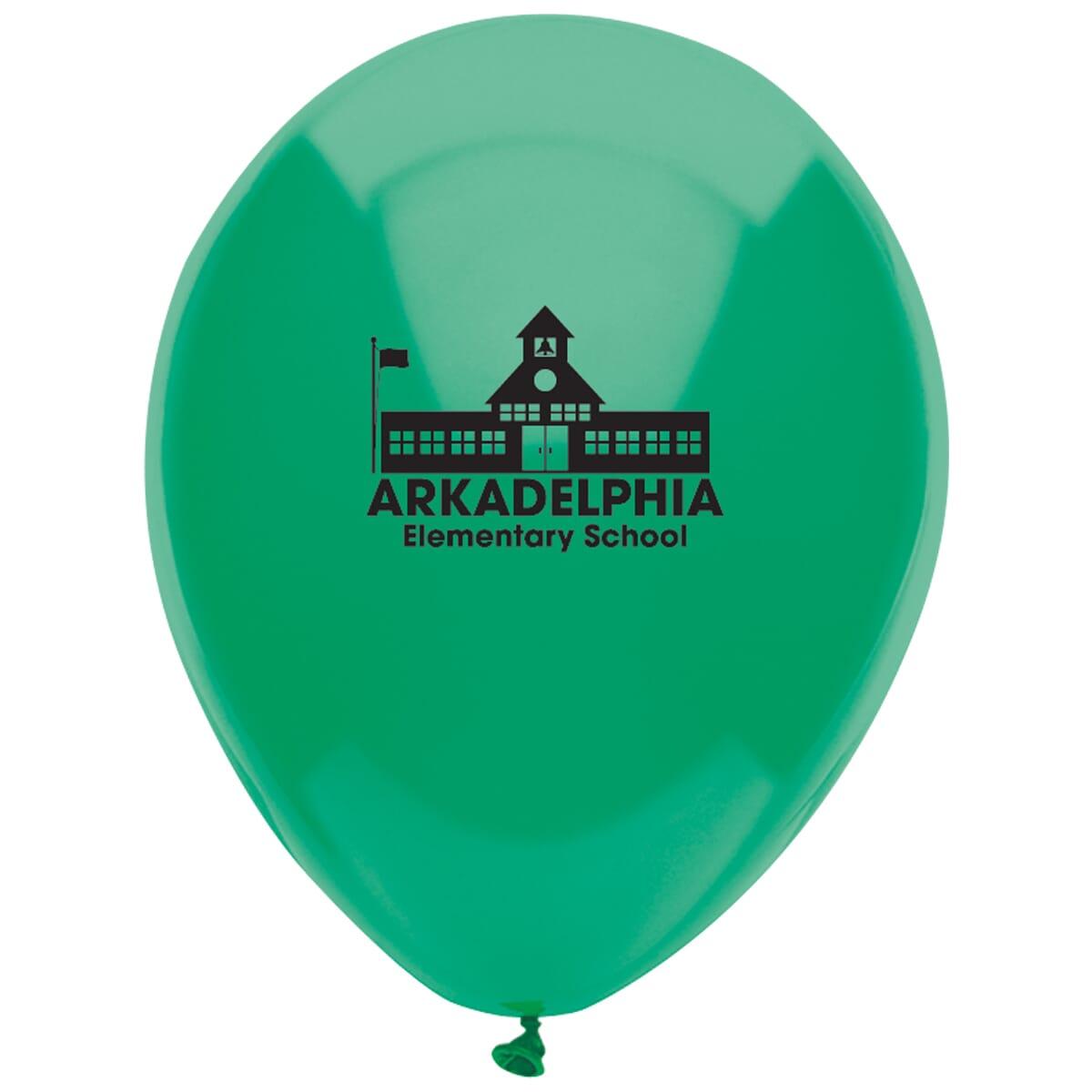 9 AdRite™ Balloons- Basic Colors