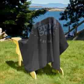 Collegiate Sweatshirt Blanket